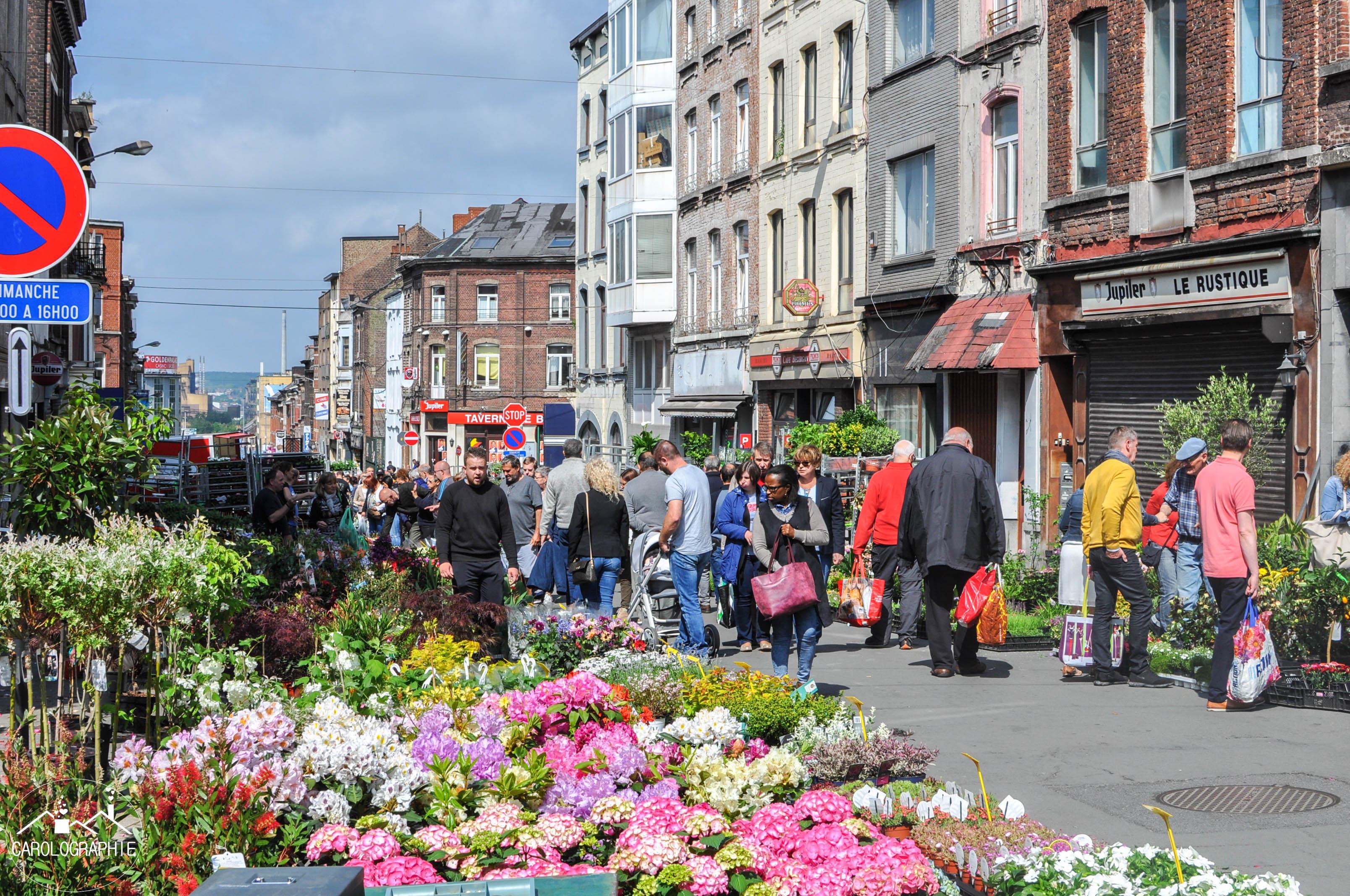 Marché dominical de Charleroi